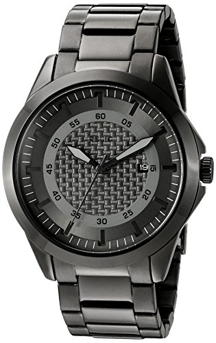 (Relic Men's 'Grays' Quartz Stainless Steel Casual Watch, Color:Silver-Toned (Model:)