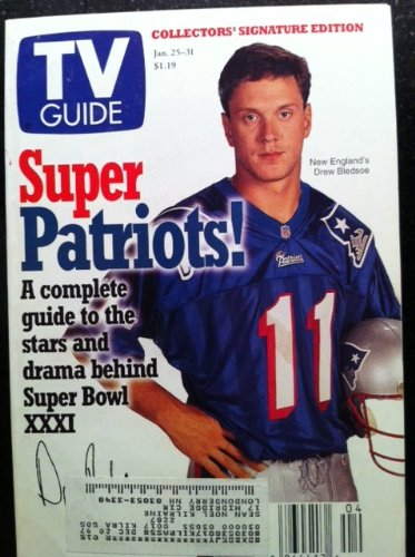 (TV Guide January 25-31, 1997 (New England's Drew Bledsoe: Super Patriots! A Complete Guide to the Stars and Drama Behind Super Bowl XXXI; Remembering Roots: Stan Margulies, Producer of the Miniseries That Riveted the Nation in January 1977, Asks If 'Roots' Could Be Made Today, Volume 45, No. 4, Issue #2287))