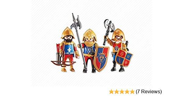 PLAYMOBILÂ Playmobil Add-On Series - 3 Lion Knights
