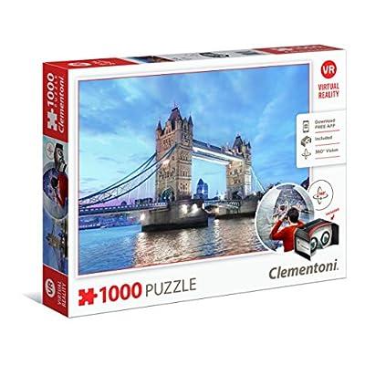 Clementoni 39428 Virtual Reality Puzzle London 1000 Pezzi