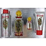 Christian Audigier Ed Hardy Villain 4 Piece Gift Set for Women