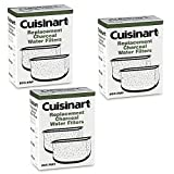 Cuisinart Coffee Maker Filter Cuisinart DCC-RWF *Triple Pack* Charcoal Water Filters in Cuisinart DCC-RWF Retail Box