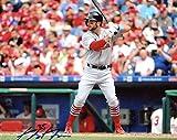 Greg Garcia Autographed Picture - At Bat 8x10 Coa - Autographed MLB Photos