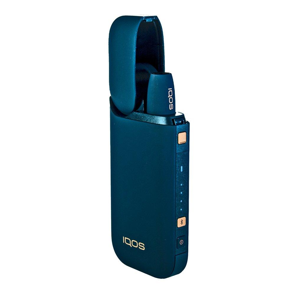 IQOS 2.4 PLUS NAVYBLUE - Version 2018 - Bluetooth & Vibration ! Order Now ! + 1 IQOS Ashtray IQOS (Philip Morris)