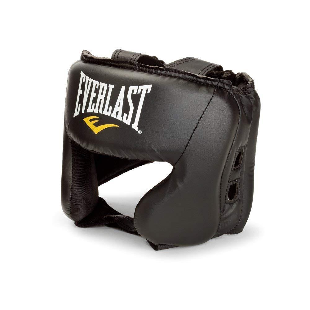 Boxe, Noir, Simili-cuir, Taille unique casques pour arts martiaux Everlast 4022 Boxe casque pour arts martiaux