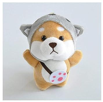 FMITT Cute Little Shiba Inu Animal Nuevo Llavero Kawaii ...