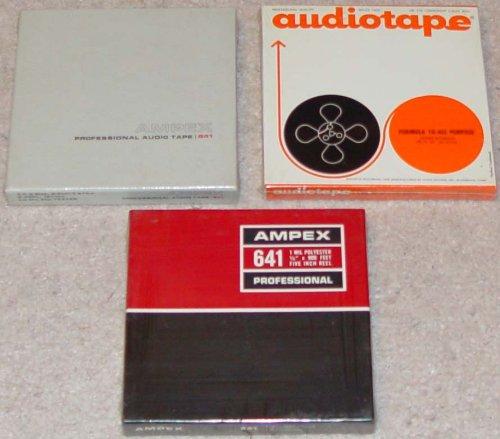 (Ampex Professional Audio Tape 641 (900 Feet 5