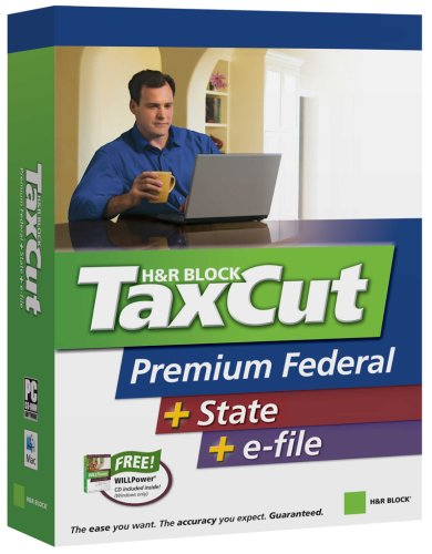 H R Block Taxcut 2006 Premium Federal   State   Efile