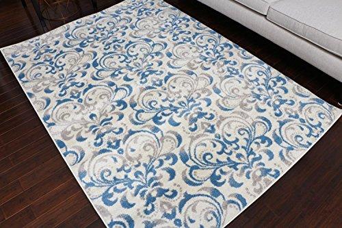 Amazon Com Paris Collection Oriental Carpet Area Rug Blue