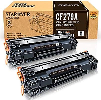 STAROVER Cartucho de Tóner Compatible Repuesto para HP 79A CF279A ...