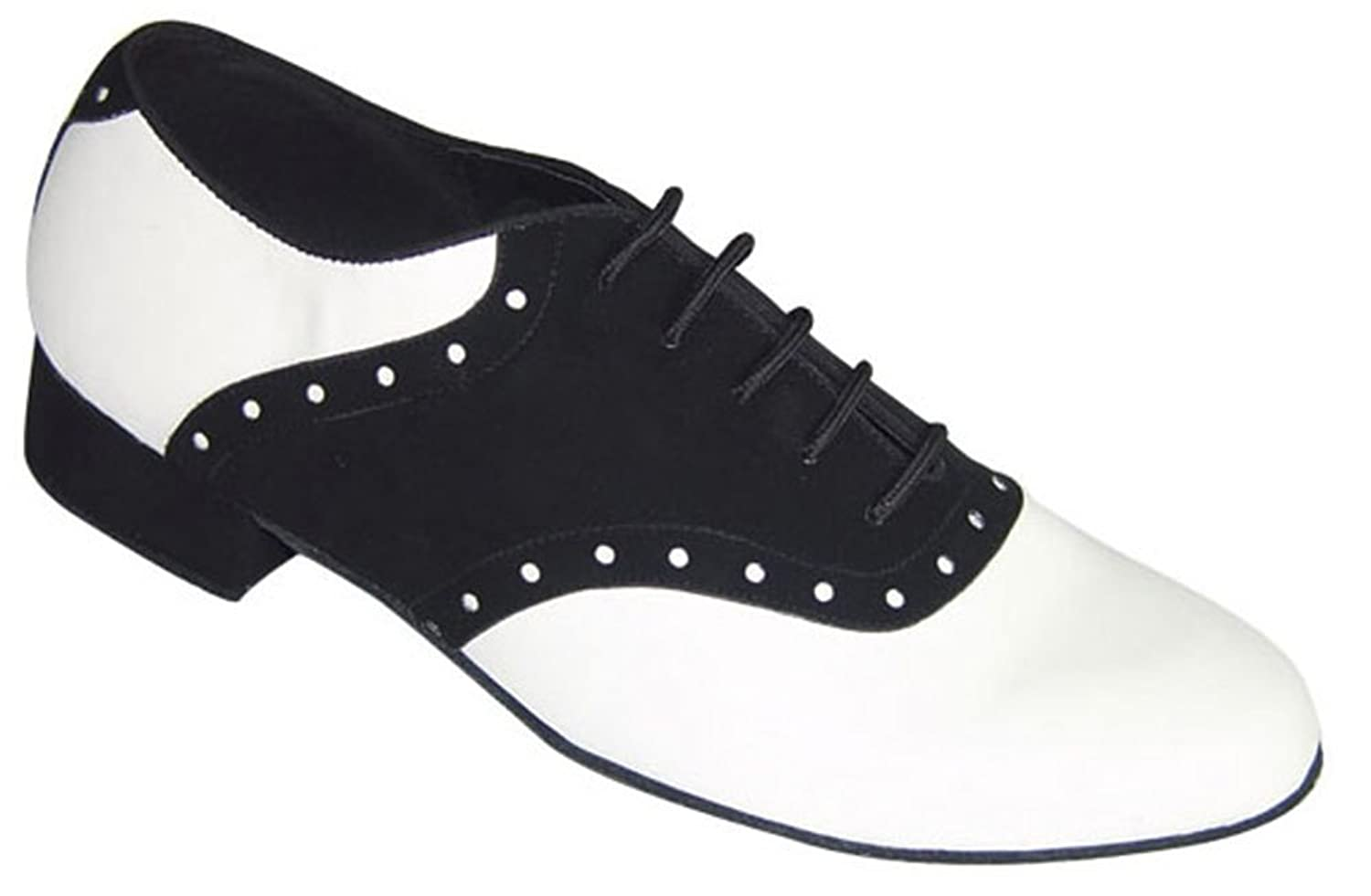 Retro Style Dance Shoes  Mens Steffan Ballroom Dance Shoes (Competition Grade) $74.99 AT vintagedancer.com