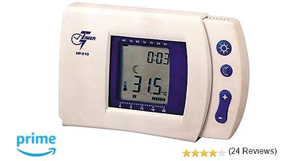 MKC HP-510 - Cronotermostato programable (programas fáciles de usar): Amazon.es: Electrónica