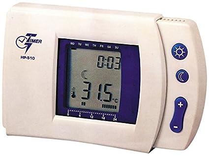 MKC HP-510 - Cronotermostato programable (programas fáciles de usar)