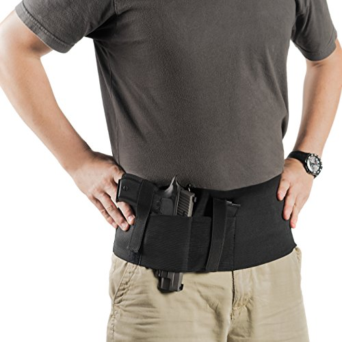 2 Holsters! Belly Band Holster & Ankle Holster Bundle - Armed Citizenz (9mm M&p 17 Magazine Round)