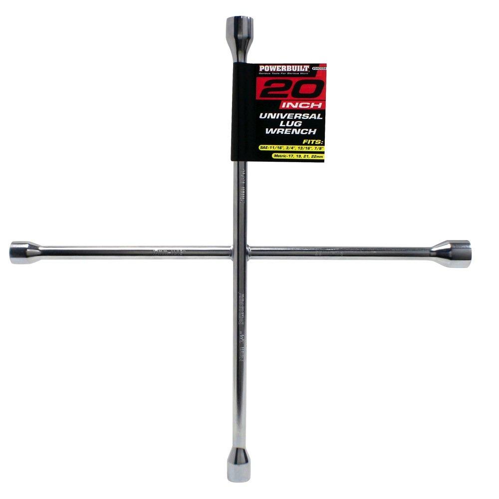 Powerbuilt 940560 23-Inch Universal 4-Way Lug Wrench
