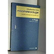 introduction micrometeorologie