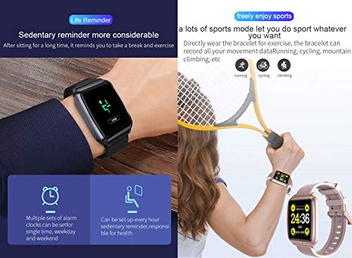 Amazon.com: AOBBY - Reloj inteligente con pantalla a color ...