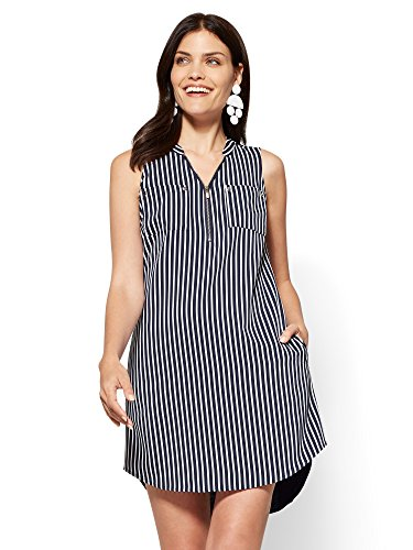 Zip Shift Dress - 2