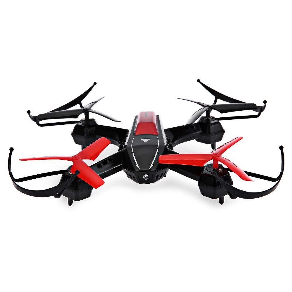 FYJH Remote Drohne Mini-Vier-Achsen-Flugzeug 2.4GHz Headless-Modus schöne LED-Leuchten Anti-Fall 360-Grad-Flip mit High-und Niedrig-Range-Drohne