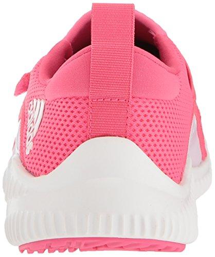 adidas Girls' Fortarun, Chalk Blue/Aero Pink/White, 10.5 M US Little Kid by adidas (Image #2)