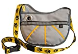 FUZZY JAY Agility Training Bag - Dog Treat Pouch (grey/yellow)