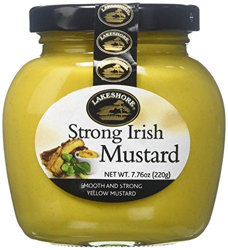 (Lakeshore Strong Irish Mustard, 7.8oz (6 Pack) )