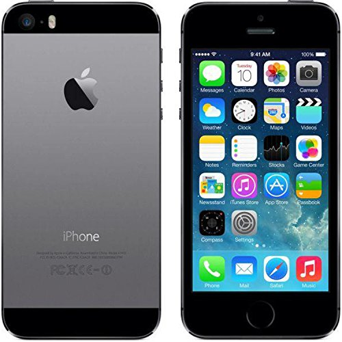 Apple iPhone 5S 16GB GSM Unlocked, Space Gray (Refurbished) by Apple (Image #3)
