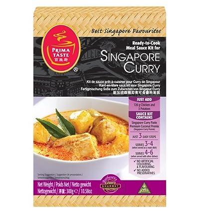 Listos para cocinar la salsa de curry Kit Para Singapur: Amazon.es: Alimentación y bebidas