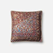 "Loloi P0650 Pillow Cover with Down Fill, 18"" x 18&qu"