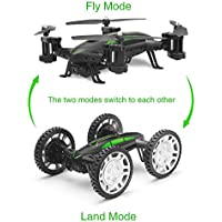 RC Drone - UMsky 2.4Ghz Off Road Flying Car Remote Control Quadcopter with WIFI Camera and Altitude Hold Function Battery Included