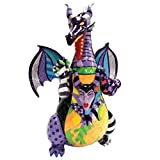 """Enesco Disney by Britto Maleficent Dragon from """"Sleeping Beauty"""" Stone Resin Figurine"""