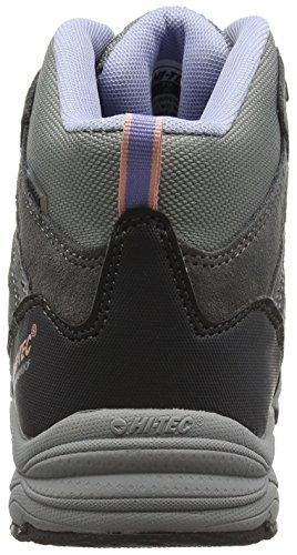 Alto High Ii Mujer de Zapatos Mid Charcoal Hi Tec 052 Senderismo Steel Lustre Gris Rise Waterproof g5BwqBR0