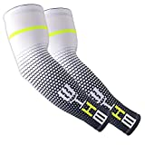 Cover Arm Warmer UV Protection Cooling Arm Sleeves for Men Breathable Cooling Sunshade Protection Cover Sport Outdoor Cycling Arm Warmer Sleeve Arm Sleeves Protective Gloves