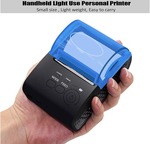 MinGz Thermal Receipt Printer,Portable Personal Printer Mini