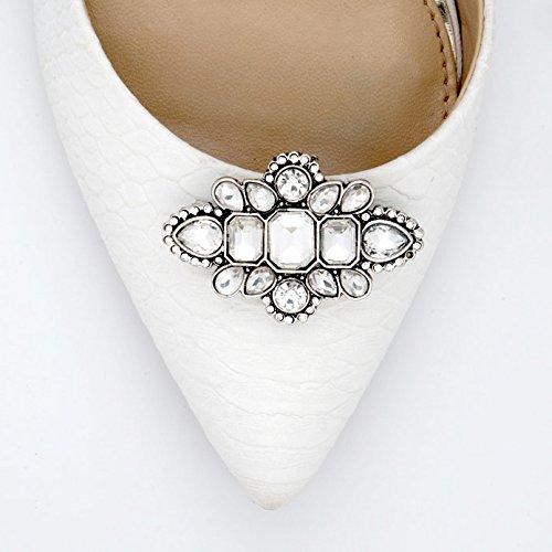 Rhinestone Crystal Shoe Clips Wish