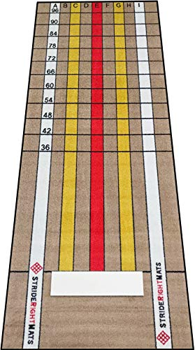 (StrideRight Pitching Mat Next Level Pitcher (4' x 10'))