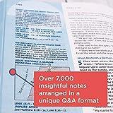NIV, Quest Study Bible, Hardcover, Blue, Comfort