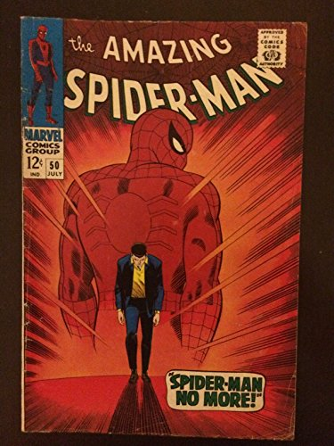 Amazing Spider-man #50 1967 First Printing Marvel Comic Book. First Appearance of Kingpin