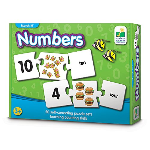 The Learning Journey Match It! - Numbers - Self-Correcting Number & Counting Puzzles by The Learning Journey