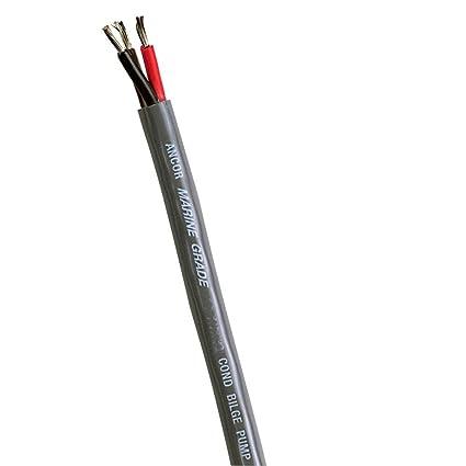 Ancor Marine Grade Electrical Bilge Pump Premium Tinned Copper 3-Cable Wiring