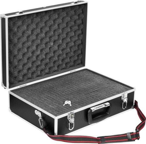 Orion 05999 Pluck-Foam Deluxe Large Accessory Case (Black) ()