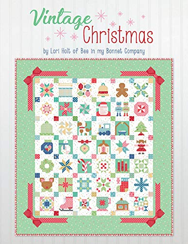 It's Sew Emma Vintage Christ mas Quilt Book by Lori Holt of Bee in My Bonnet ()