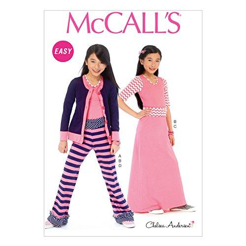 McCall Pattern Company Cardigan 7 8 10 12 14