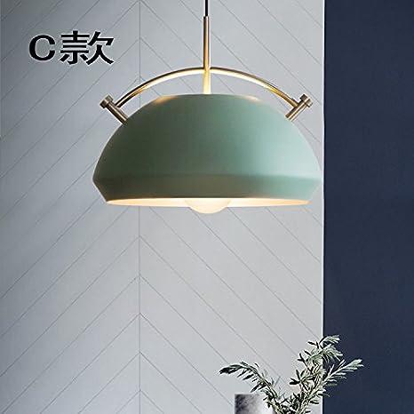 Amazon.com: Lámpara de araña de hierro forjado moderna y ...