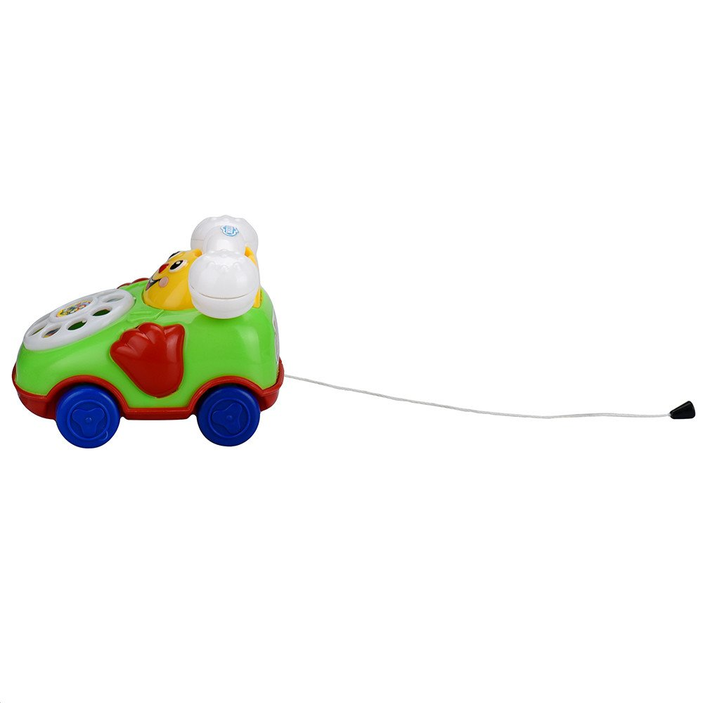 Wenini Telephone Car Top Chain Car Educational Toys - Cartoon Smile Phone Car Developmental Kids Toy Gift for Ages 3 Years Over (Random) by Wenini (Image #7)