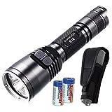 long range infrared illuminator - Nitecore Bundle CI6 850nm 1500mw Long Range High Power LED Infrared IR Illuminator with 2x CR123A Batteries & Keychain Light