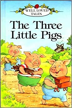 Three little pigs childrens book
