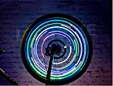 #8: LEBOLIKE LED Bike Spoke Lights for Wheel Decoration Safty Cool Night Riding - Bike Wheel Lights with BATTERIES INCLUDED