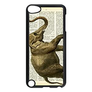 Elephant on Dictionary iPod Touch 5 Case Black P6691965