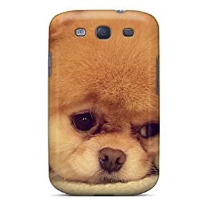 New Premium HappyDIYcase Beautiful Dog Skin Case Cover Excellent Fitted For Galaxy S3